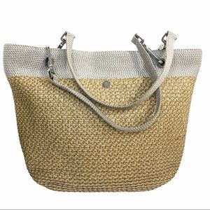 Eric Javits Two Tone Squishee Clip Tote